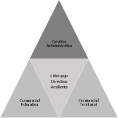 Figura 4. Función del liderazgo directivo educativo desde el capital social